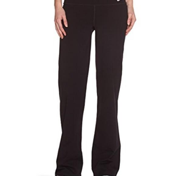 Nike Pants Jumpsuits Nwt Womens Regular Drifit Cotton Yoga Pants Poshmark